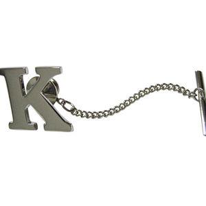 Letter K Tie Tack